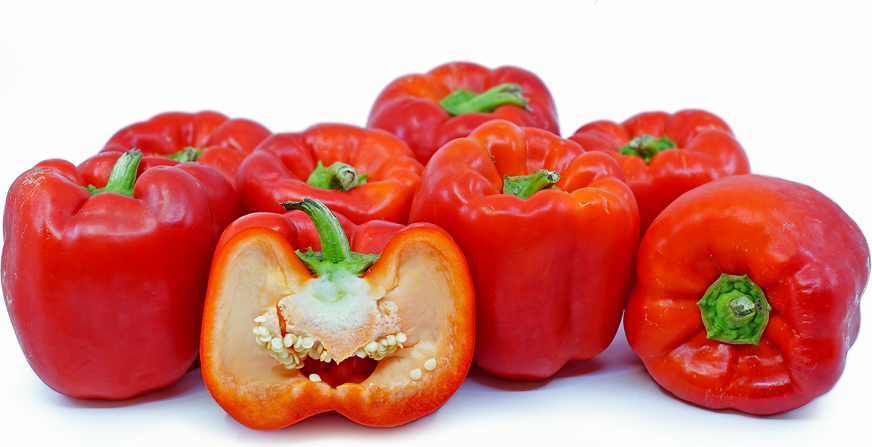 Large Red Bell Peppers Information, Recipes and Facts