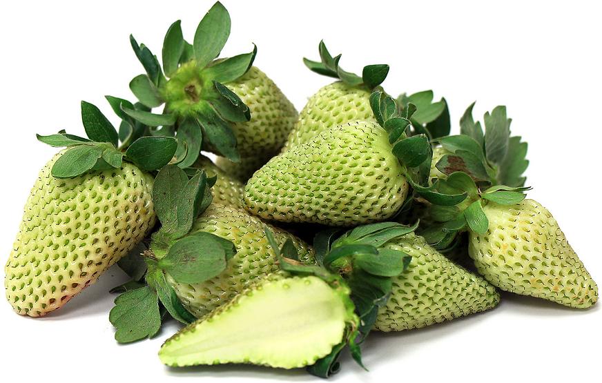 Green strawberries