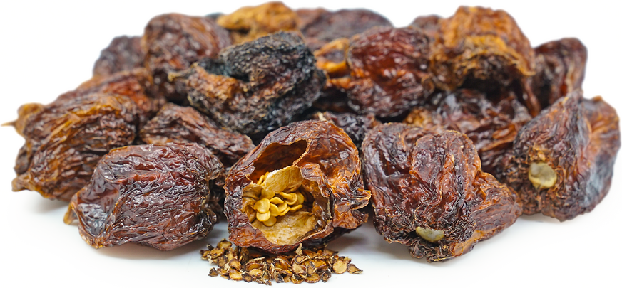 Dried Scotch Bonnet Peppers