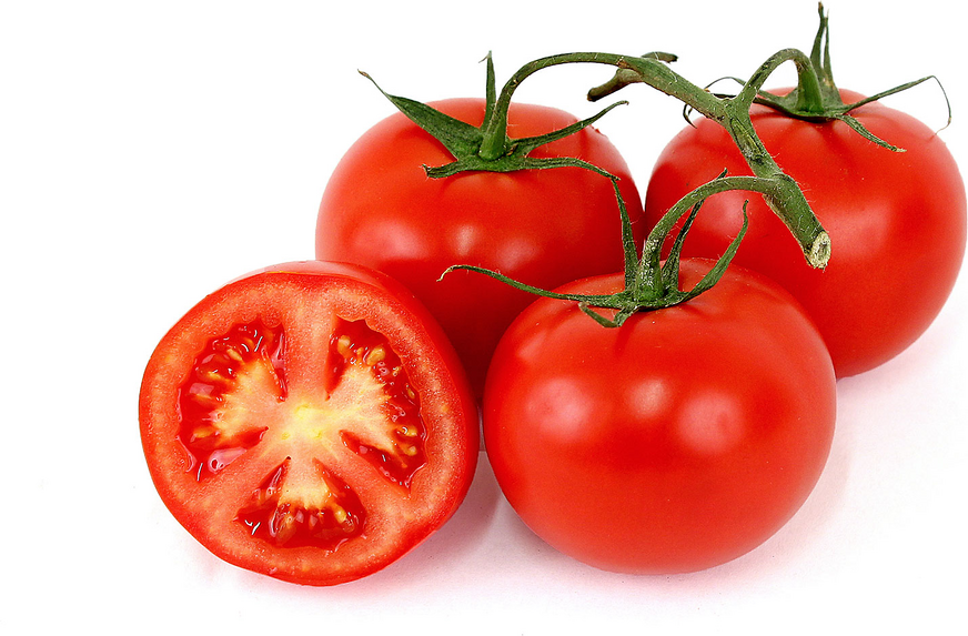 Red Tomato On The Vine