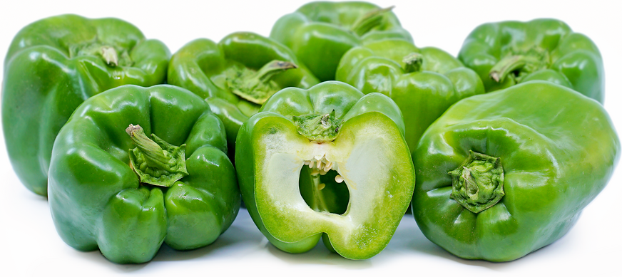 Large Green Bell Peppers