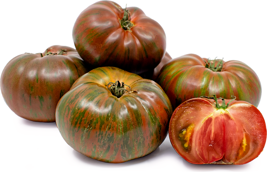 Heirloom Black Zebra Tomatoes
