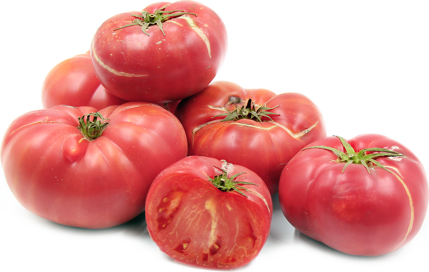 Pink Caspian Heirloom Tomatoes picture