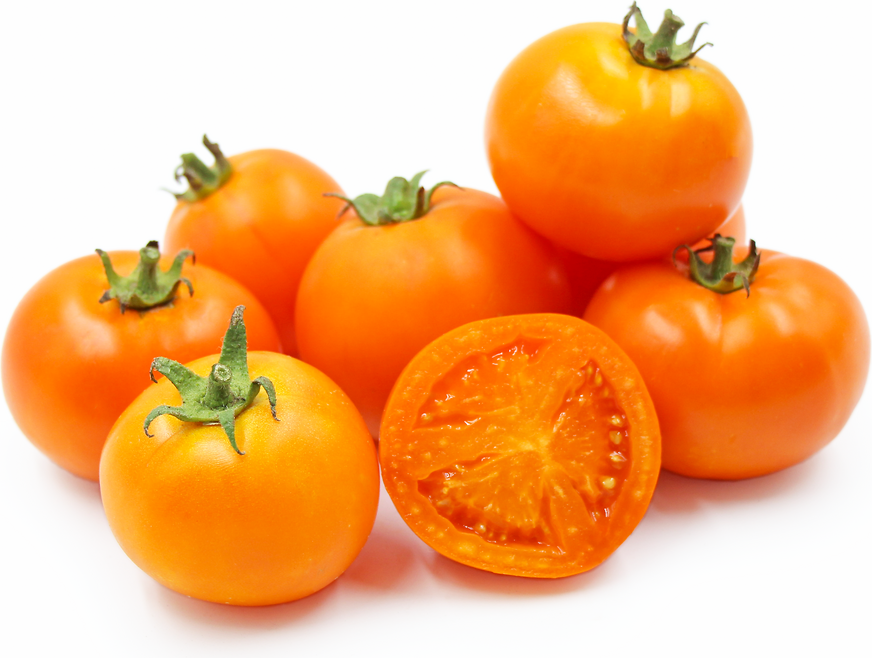 Sweet Tangerine Heirloom Tomatoes picture