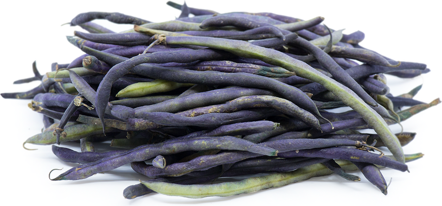 Baby Purple French Beans picture