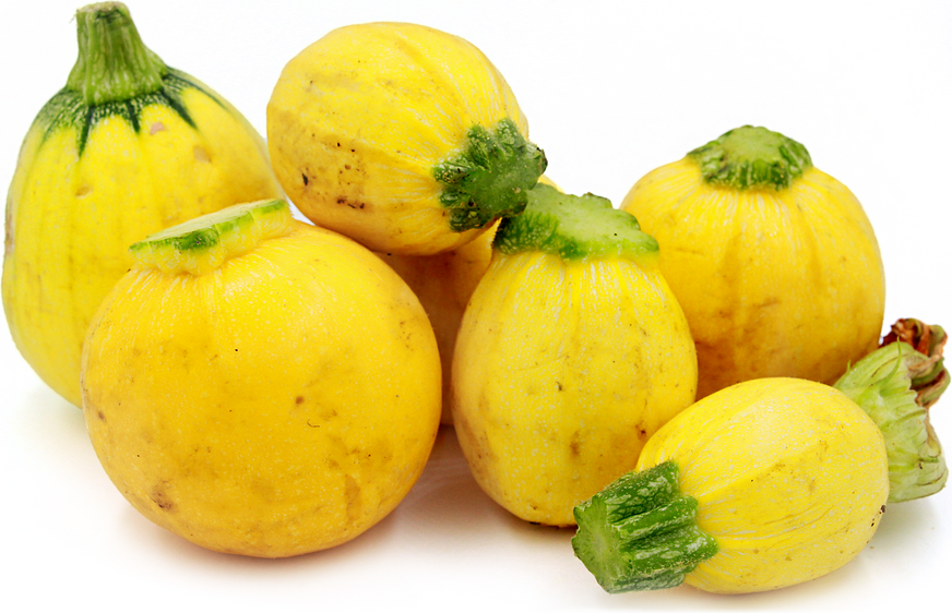 Yellow Eightball Squash picture