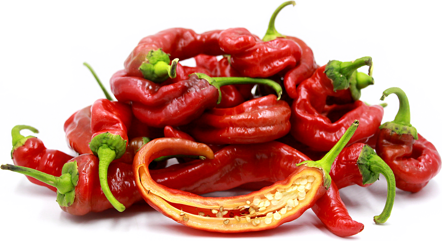 Italian Long Sweet Red Chile Peppers