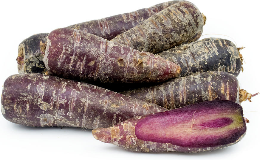 Purple Chantenay Carrots picture