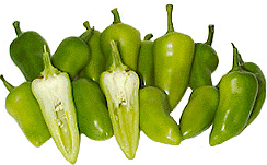Green Fresno Chile Peppers