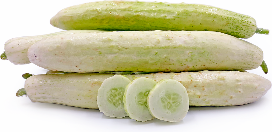 White Japanese Cucumbers picture