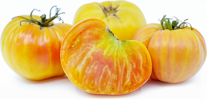 Big White Pink Stripe Heirloom Tomatoes picture