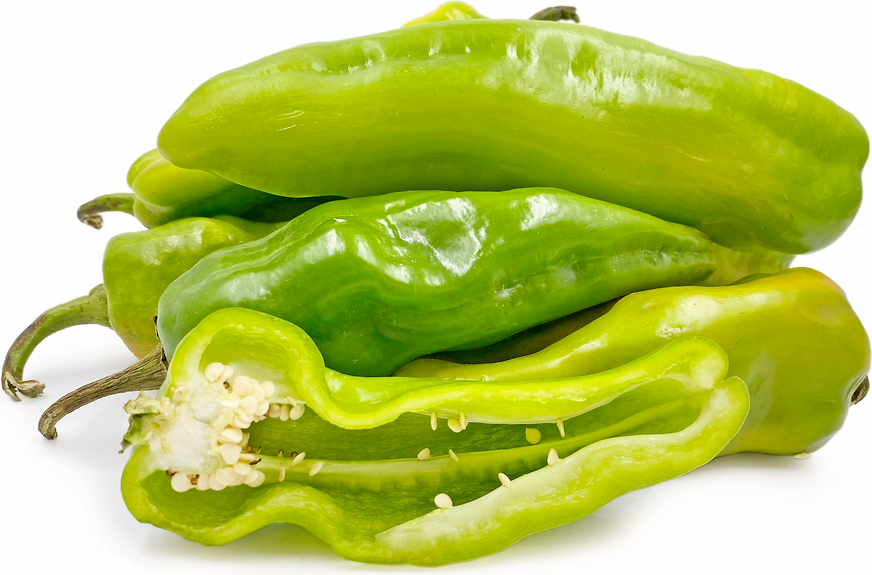 Half Bitter Green Chile Peppers picture