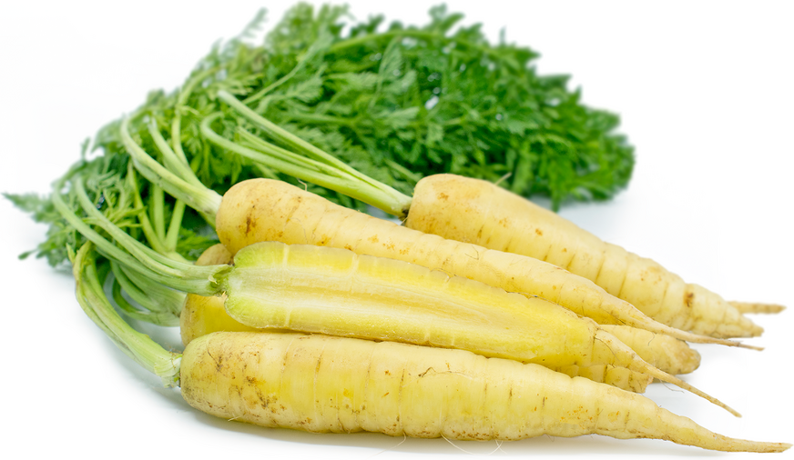 Baby White Bunched Carrots