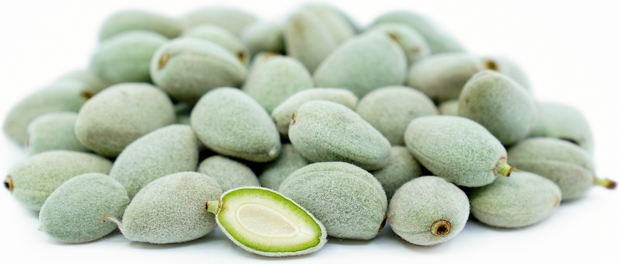 Fresh Green Almonds picture
