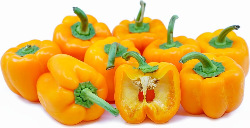 Large Orange Bell Peppers picture