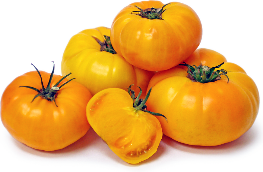 Yellow Brandywine Heirloom Tomatoes picture
