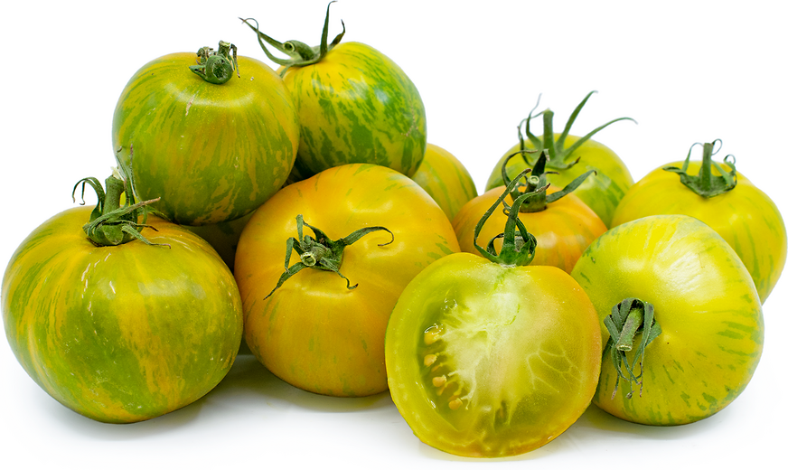 Green Zebra Tomatoes picture