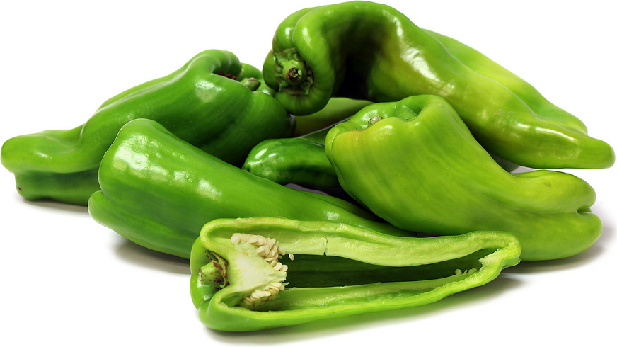 Cubanelle Italian Green Chile Peppers