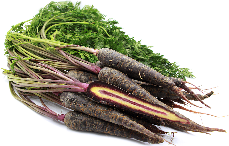 Red (Maroon) Baby  Bunched Carrots