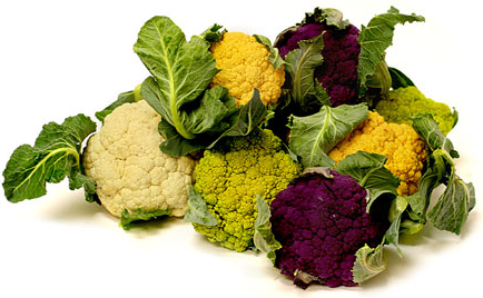 Image result for images multi colored cauliflower