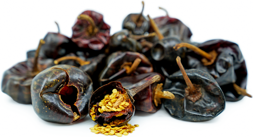 Dried Cascabel Chile Peppers picture
