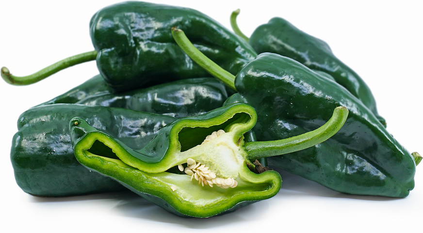 Green Pasilla Chile Peppers picture