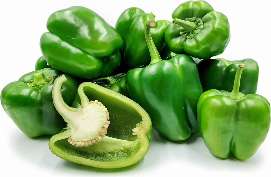 Green Holland Bell Peppers