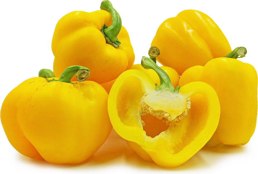 Yellow Holland Bell Peppers picture
