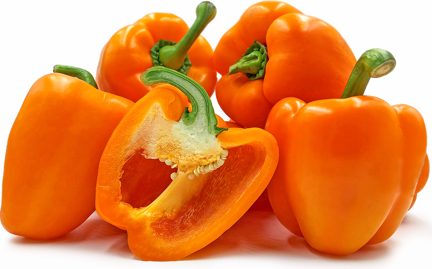 Orange Holland Bell Peppers