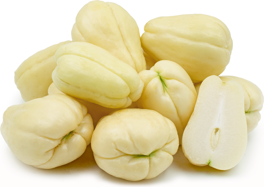 white chayote squash information and facts