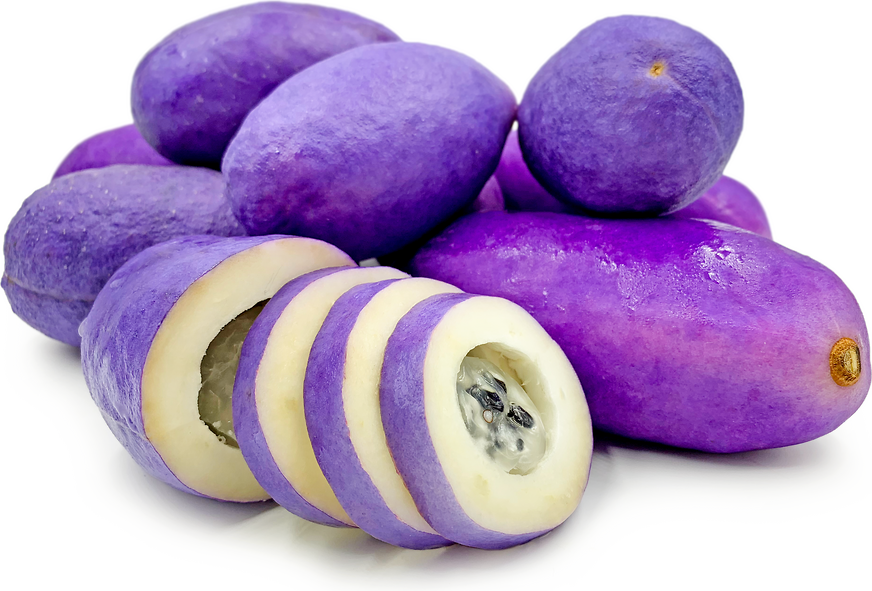 Purple Akebi Fruit