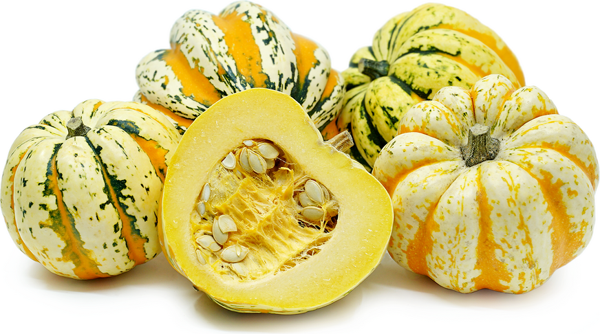 Carnival Squash Information, Recipes and Facts